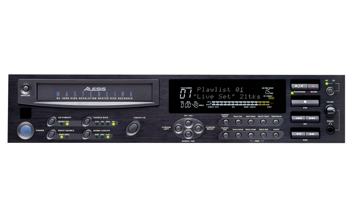 masterlink ml9600 alesis