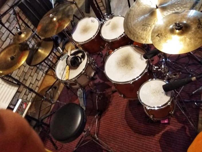 YAMAHA 9000 Rec Custom drum set