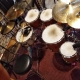 YAMAHA 9000 Rec Custom drum set