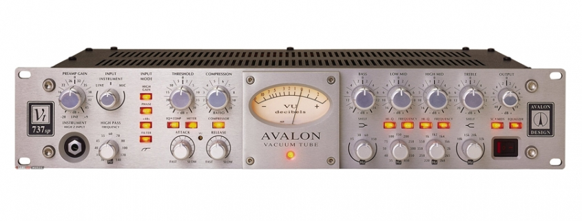 Avalon VT-737SP | Studio Recording Mastering Music Productions. Cue Studio Records is a modern and well-equipped recording and mastering studio in Thessaloniki.