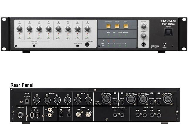 Tascam FW-1804 | Στούντιο Ηχογράφησης Mastering Μουσικές Παραγωγές. Το CUE είναι ένα σύγχρονο και άρτια εξοπλισμένο στούντιο ηχογράφησης και Mastering στη Θεσσαλονίκη.