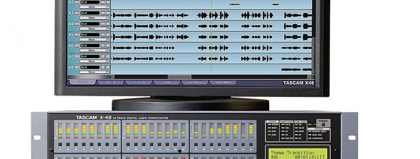 Tascam X 48   Studio Recording Mastering Music Productions. Cue Studio Records is a modern and well-equipped recording and mastering studio in Thessaloniki.