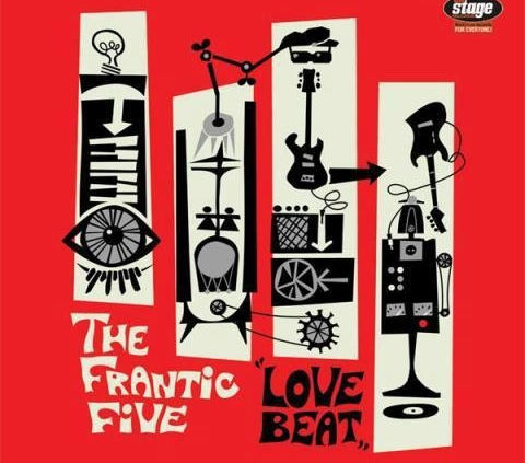 "The Frantic Five ""Love beat"" Recorded, Mixed, Mastered at Cue Productions"