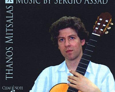 Θάνος Μίτσαλας - Music By Sergio Assad   Στούντιο Ηχογράφησης Mastering Μουσικές Παραγωγές. Το CUE είναι ένα σύγχρονο και άρτια εξοπλισμένο στούντιο ηχογράφησης και Mastering στη Θεσσαλονίκη.