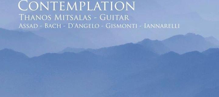 Θάνος Μίτσαλας - Contemplation | Στούντιο Ηχογράφησης Mastering Μουσικές Παραγωγές. Το CUE είναι ένα σύγχρονο και άρτια εξοπλισμένο στούντιο ηχογράφησης και Mastering στη Θεσσαλονίκη.