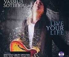 Βασίλης Σωτηρίου - Live Your Life | Στούντιο Ηχογράφησης Mastering Μουσικές Παραγωγές. Το CUE είναι ένα σύγχρονο και άρτια εξοπλισμένο στούντιο ηχογράφησης και Mastering στη Θεσσαλονίκη.